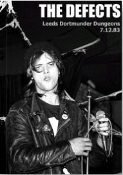 DEFECTS - 1983 IN LEEDS PICTURES BOOK BY MICK MERCER