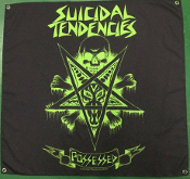 SUICIDAL TENDENCIES - POSSESSED FLAG BANNER