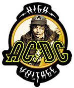 AC/DC - HIGH VOLTAGE DIE CUT STICKER