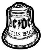 AC/DC - HELLS BELLS STICKER