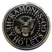 RAMONES - SEAL ON SILVER STICKER