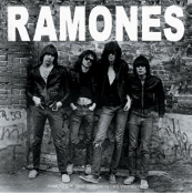 RAMONES - 1ST ALBUM STICKER