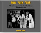 BOOK - NEW YORK PUNK DURING 1970'S