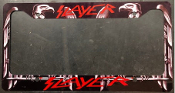 SLAYER - REIGN IN BLOOD LICENSE PLATE