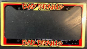 BAD BRAINS - LOGO LICENSE PLATE