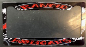 RANCID - HOLIGANS LICENSE PLATE