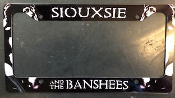 SIOUXSIE & THE BANSHEES - SIOUXSIE LICENSE PLATE
