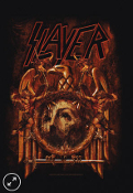 SLAYER - EAGLE REPENTLES FABRIC POSTER