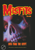 MISFITS - CUTS FROM THE CRYPT FABRIC POSTER