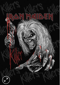 IRON MAIDEN - KILLER FABRIC POSTER