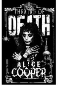 ALICE COOPER - THEATRE OF DEATH STICKER