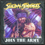 SUICIDAL TENDENCIES - JOINT THE ARMY BANNER