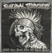 SUICIDAL TENDENCIES - STILL CYCO PUNK BANNER
