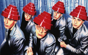 DEVO - GROUP DOME COUNTER TOP POSTER