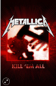 METALLICA - KILL EM ALL COUNTER TOP POSTER