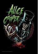 ALICE COOPER - JACK IN THE BOX FABRIC POSTER