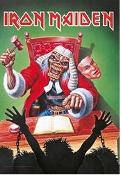 IRON MAIDEN - JUDGE FABRIC POSTER
