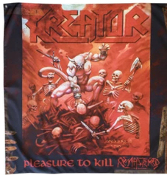 KREATOR - PLEASURE TO KILL FLAG