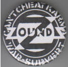 ZOUNDS - CAN'T CHEAT KARMA BUTTON / BOTTLE OPENER / KEY CHAIN /
