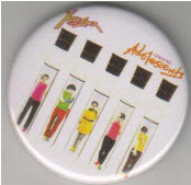 X RAY SPEX - GERMFREE ADOLESCENTS BUTTON / BOTTLE OPENER