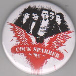 COCK SPARRER - BAND BUTTON / BOTTLE OPENER / KEY CHAIN / MAGNET