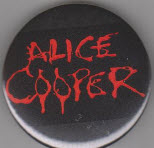 ALICE COOPER - ALICE COOPER - BUTTON / BOTTLE OPENER / KEY CHAIN