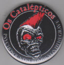 OS CATALEPTICOS - LOGO BUTTON / BOTTLE OPENER / KEY CHAIN /