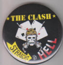 CLASH - STRAIGHT TO HELL BUTTON / BOTTLE OPENER / KEY CHAIN / M