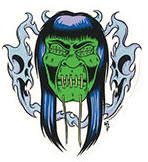 ALAN FORBES STICKER - GHASTLY
