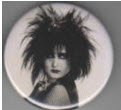 SIOUXSIE & BANSHEES - SIOUXSIE PICTURE BUTTON / BOTTLE OPENER