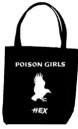 POISON GIRLS - HEX TOTE BAG