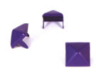 LARGE PURPLE PYRAMID STUDS (PACK OF 20)