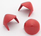 LARGE RED CONES STUDS (PACK OF 20)