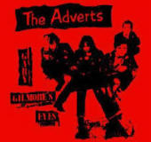 ADVERTS - GILMORE'S EYES BACK PATCH