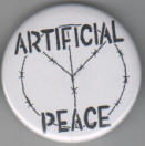 ARTIFICIAL PEACE BUTTON / BOTTLE OPENER / KEY CHAIN / MAGNET