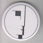 BAUHAUS - LOGO BUTTON / BOTTLE OPENER / KEY CHAIN /