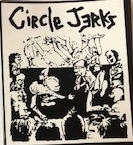 CIRCLE JERKS - PIT STICKER