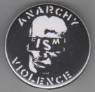 GISM - ANARCHY VIOLENCE BUTTON / BOTTLE OPENER / KEY CHAIN