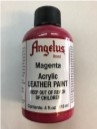 LEATHER PAINT MAGNENTA ACRYLIC