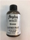 LEATHER PAINT METALLIC BRONZE ACRYLIC