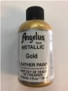 LEATHER PAINT METALLIC GOLD ACRYLIC
