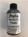 LEATHER PAINT METALLIC PEWTER ACRYLIC
