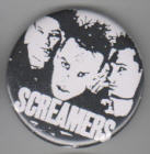 SCREAMERS - BAND PICTURE BUTTON / BOTTLE OPENER / KEY CHAIN / MA