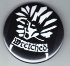 WRETCHED - LOGO BUTTON / BOTTLE OPONER / MAGNET / KEY CHAIN